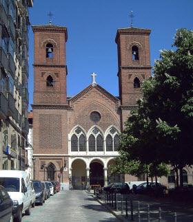 Restauración del Templo de la Virgen de la Paloma y San Pedro El Real