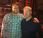 backstage with Jim Gaffigan at the Pabst for the NYE show