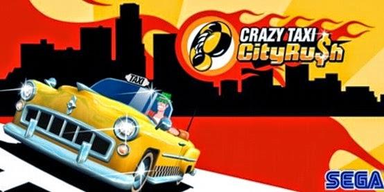 بانر لعبة كريزى تاكسى Crazy Taxi™ City Rush للأندرويد