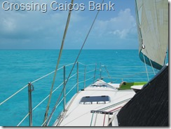 013 Crossing Caicos Bank
