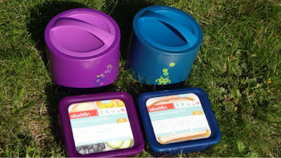 Aladdin insulated lunch kit and insulated snack kit