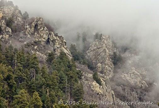 Rocks in Fog