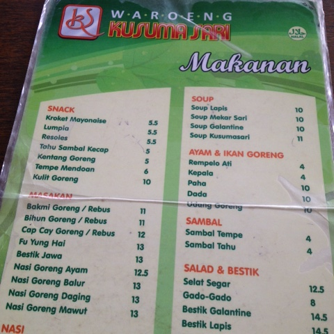 Maniak Makan, Kroket Mayonaise Waroeng Kusuma Sari, Solo