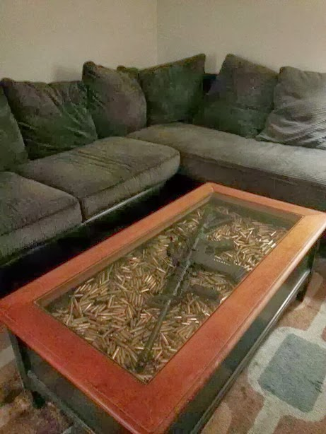 Coffee table for the Zombie Apocolypse?