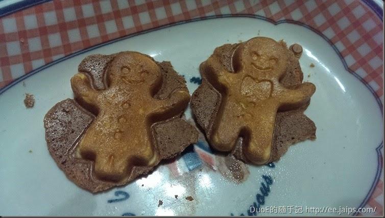 麗克特微笑鬆餅機-薑餅人
