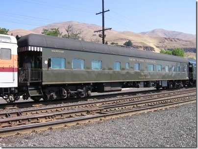 IMG_7771 New York Central Business Car #3 'Portland' in Wishram, Washington on July 3, 2009