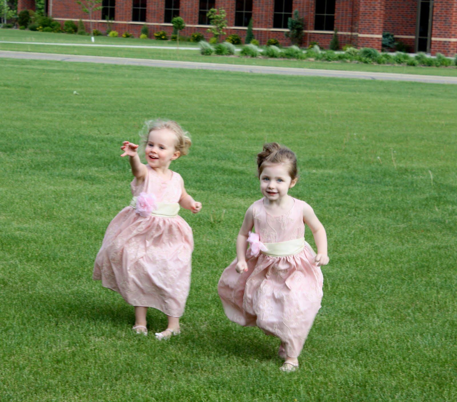 Post wedding flower girls