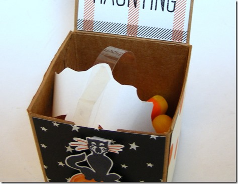 LeAnne Pugliese WeeInklings Surprise Halloween Boo Box ready to close