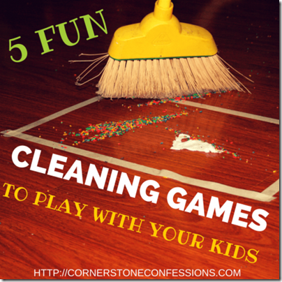 Cleaning Games to Play with Kids