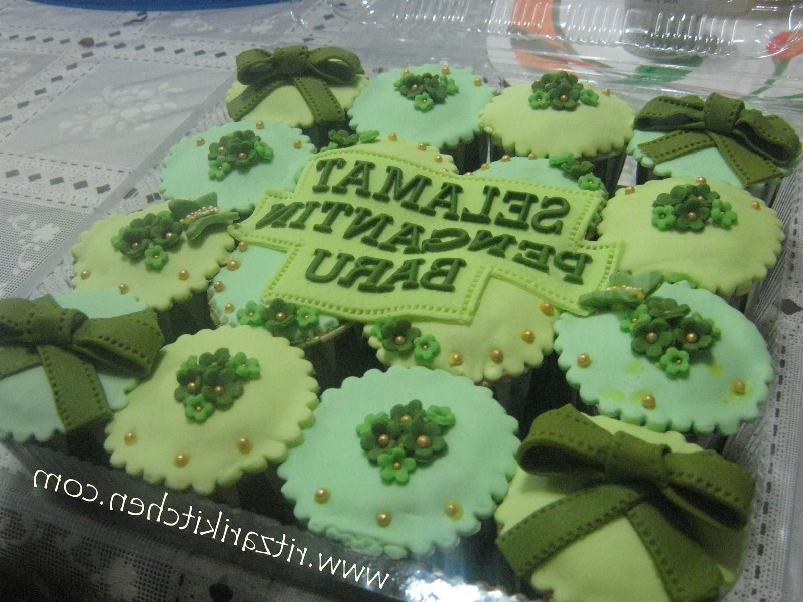 Go Green Wedding Cupcakes