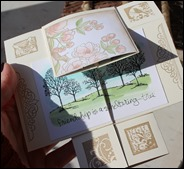 Endloskarte Endless Card Infinity Card Never Ending Card Stampin Up  03