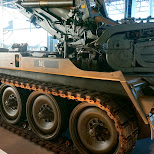 military equipment at Dutch National Military Museum Soesterberg in Soest, Utrecht, Netherlands