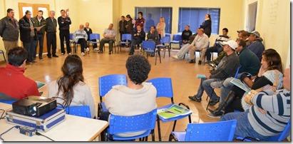 De Jesús participó del taller de Desarrollo de Pesca Artesanal Sustentable que se hizo en Costa del Este