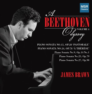 CD REVIEW: Ludwig van Beethoven - A BEETHOVEN ODYSSEY, Volume 4 (MSR Classics MS 1468)