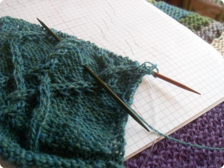 Starten på en strikkeprøve...