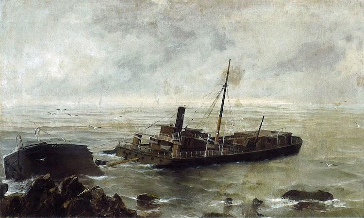 Vista artistica del hecho segun el pintor Meifren Roig.tif