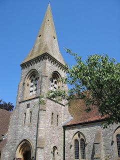 parish church of st john the evangelist in southbourne