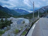 Das Tal der Var vom Col de la Cayolle (2326 m) Richtung Entraunes.