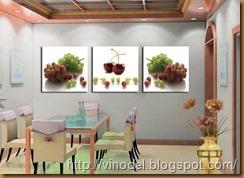 виноград на кухне