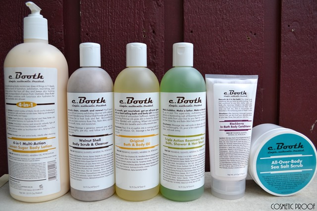 c.booth Skincare Review Freeman