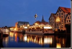 Rio Brda em Bydgoszcz