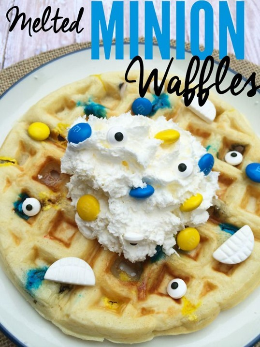 melted-Minion-Waffles