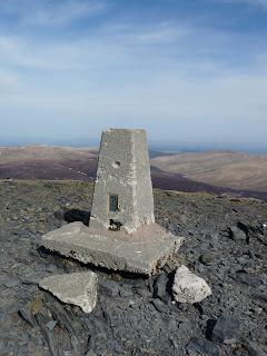 Skiddaw Summit Trig Point