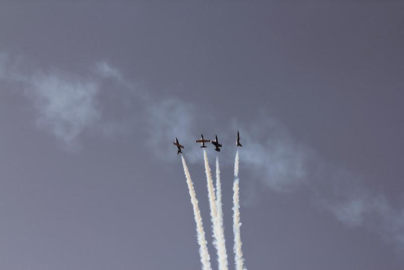 выступление пилотажной группы Русь на Гран-при России 2014