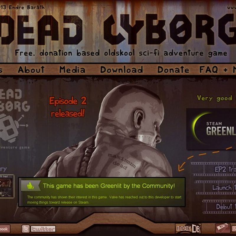 Dead Cyborg first person view, hard-sci-fi adventure game.