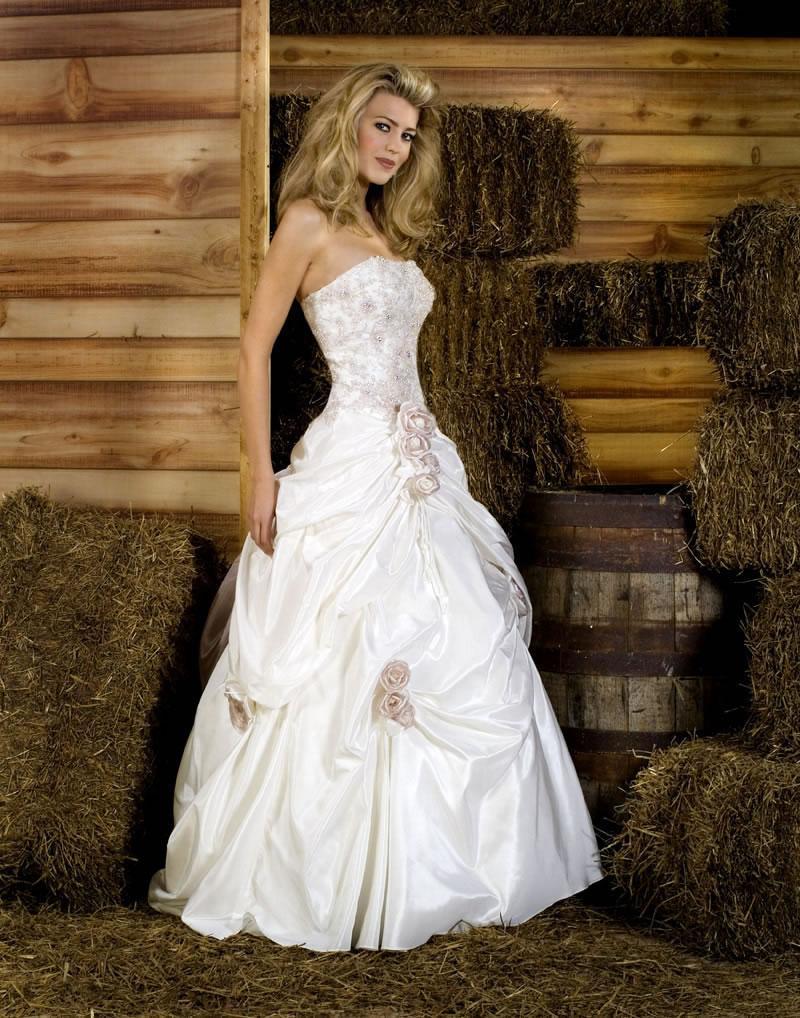 Emerald cheap wedding dress