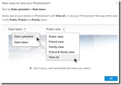 when you next log into flickr you will see this pop up