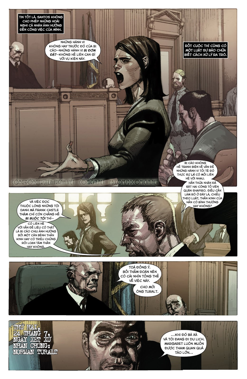 Punisher: Trial of the Punisher chap 1 - Trang 20