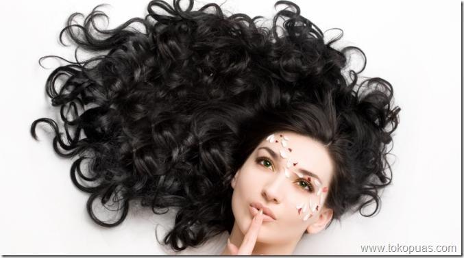 tutorial seleksi rambut keriting