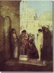 445px-Gottlieb-Cairo_Slave_Market_1877