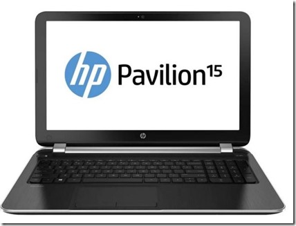 HP Pavilion 15-P231AX