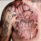 chest shoulder - tattoos ideas