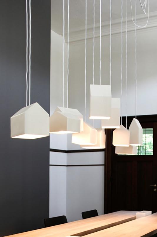 Simona elle fare casa illuminare gli interni scelte estetiche e suggerimenti tecnici - Lampade sopra tavolo da pranzo ...