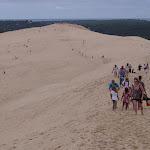 Auf der Dune-du-Pilat / На Дюне Пила