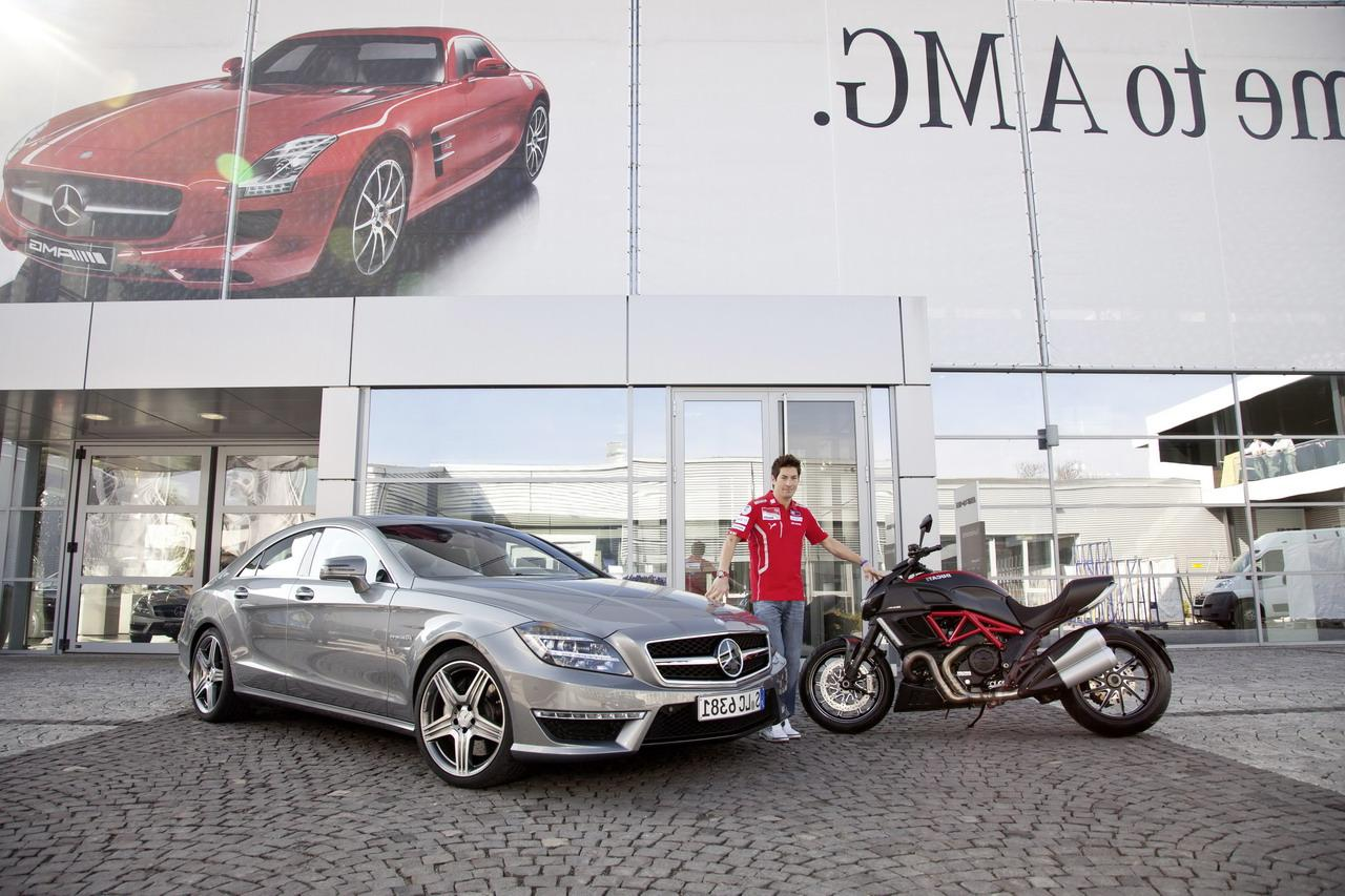delivery of a CLS 63 AMG