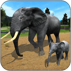 Wild Elephant Family Simulator For PC / Windows 7/8/10 / Mac – Free Download