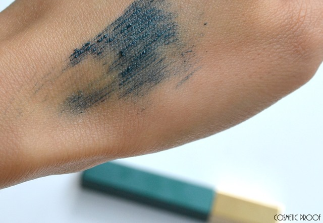 Clarins Truly Waterproof mascara in Aquatic Green Aquatic Treasures Collection Summer 2015 Review Swatches
