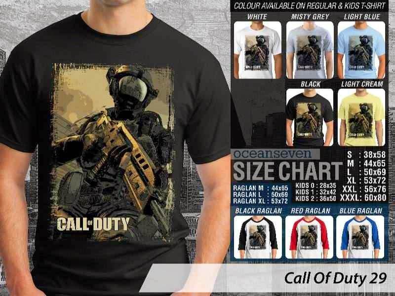 KAOS cod Call Of Duty 29 Game Series distro ocean seven