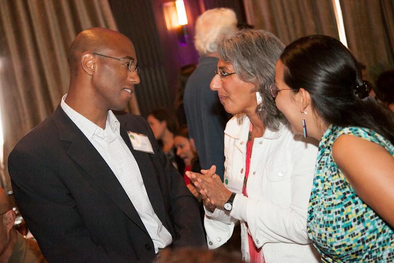 Kobe Mahiri and Anuja Mendiratta. September 25, 2013; San Francisco, CA, USA; Photo by Eric Slomanson / slomophotos.com