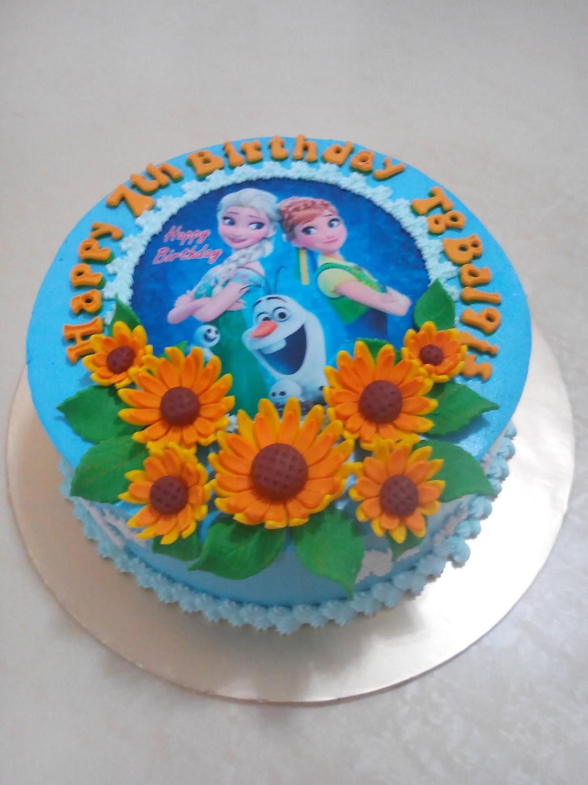 MyPu3 Cake House: Frozen Fever cake