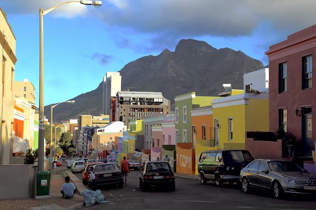 Cape Malay area in Cape Town, Bo Kaap.