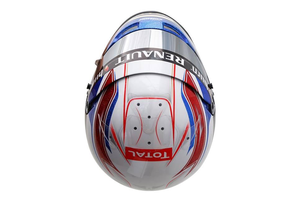 шлем Ромэна Грожана для Гран-при Монако 2013