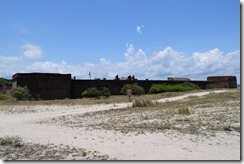 Fort Clinch from beach 2