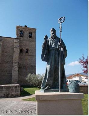 San Veremundo y la iglesia de la Asunción - Villatuerta