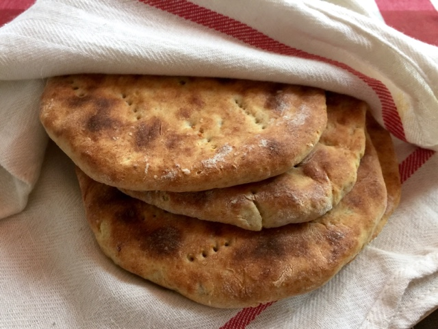 Unleavened Finnish potato flatbreads