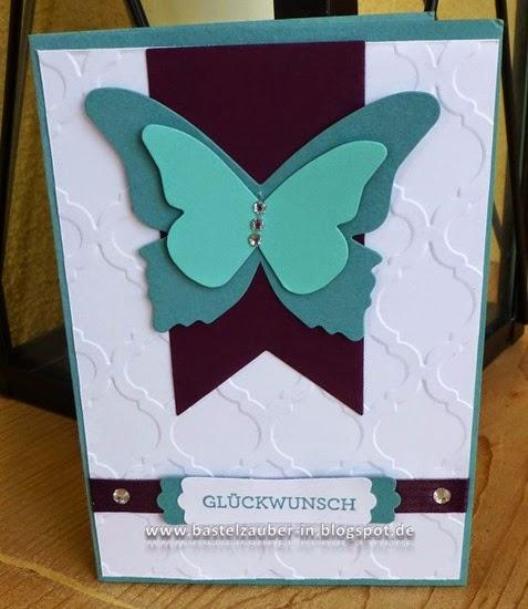 Glückwunsch Schmetterling-fertig